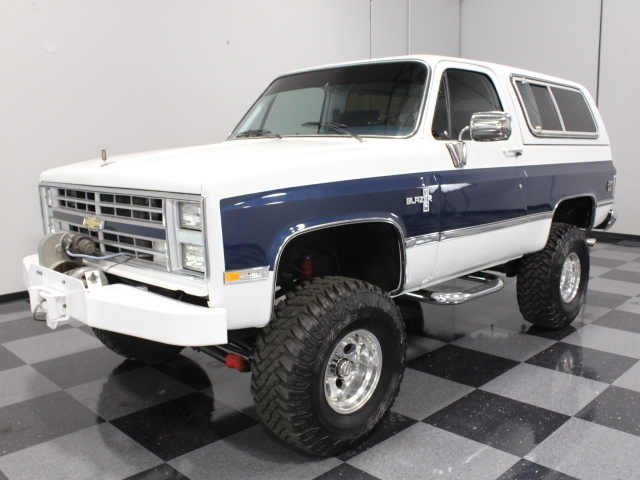 White 1985 Chevrolet Blazer K5 For Sale  MCG Marketplace