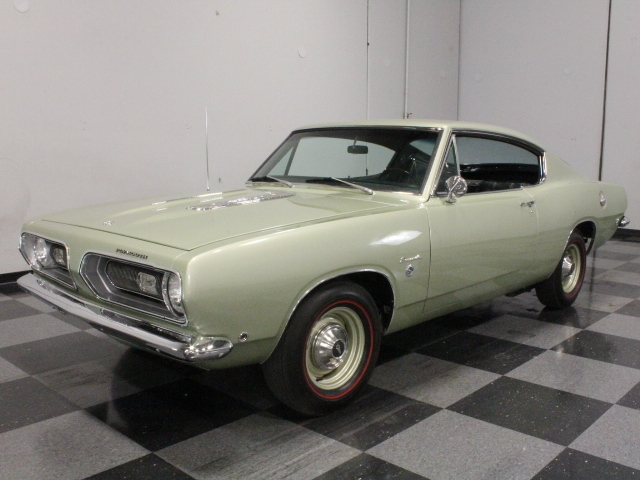 Green 1968 Plymouth Barracuda Formula S For Sale Mcg