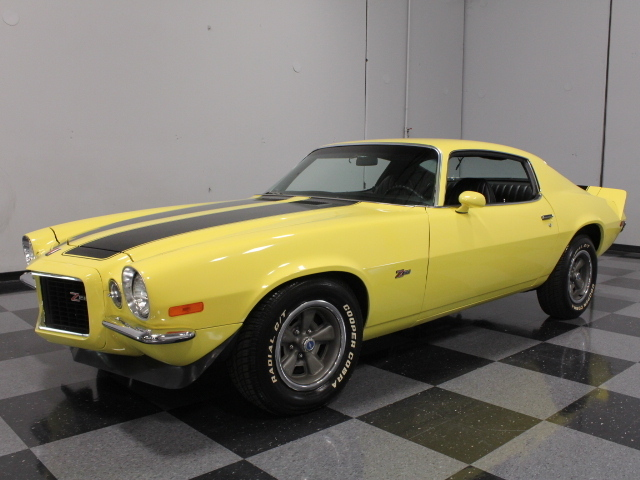 Yellow 1973 Chevrolet Camaro For Sale Mcg Marketplace