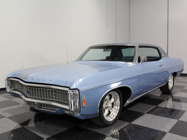 Blue 1969 Chevrolet Caprice For Sale Mcg Marketplace