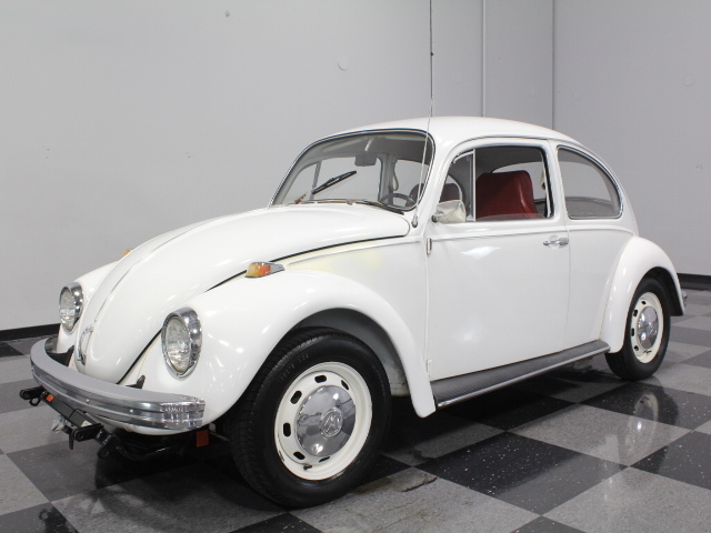 White 1969 Volkswagen Beetle For Sale Mcg Marketplace