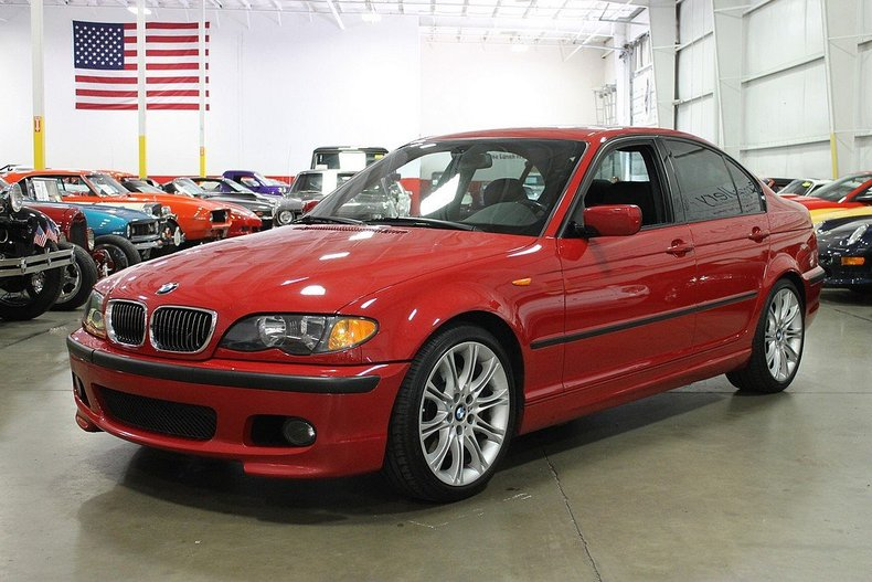 imola red 2005 bmw 330i for sale mcg marketplace. Black Bedroom Furniture Sets. Home Design Ideas