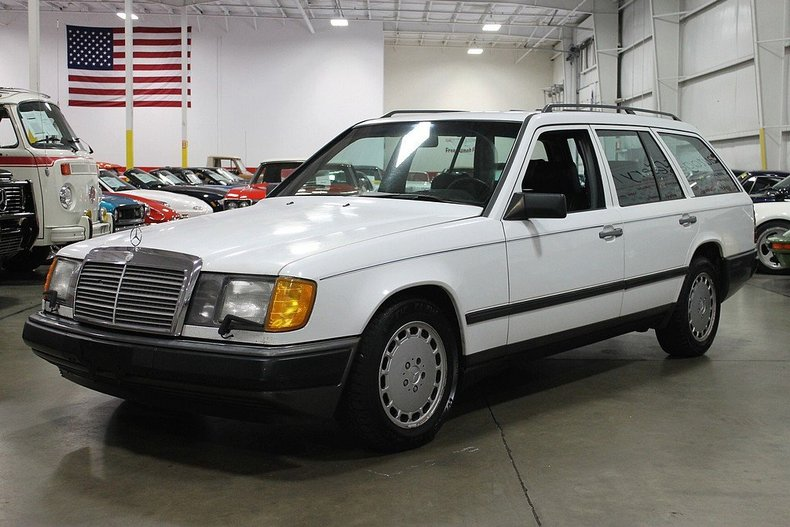 White 1987 mercedes benz 300 td for sale mcg marketplace for Mercedes benz 300 td
