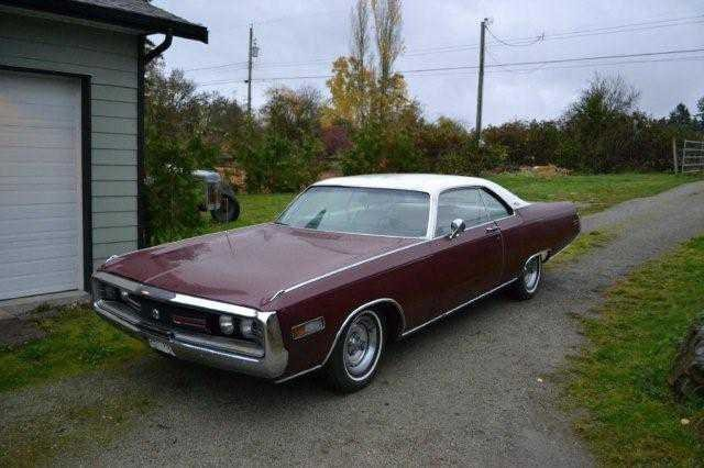 1970 Chrysler 300 Convertible For Sale: Burgundy Red 1970 Chrysler 300 Coupe For Sale
