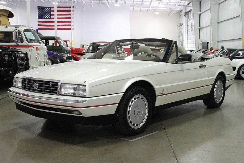 pearl white 1991 cadillac allante for sale mcg marketplace. Cars Review. Best American Auto & Cars Review
