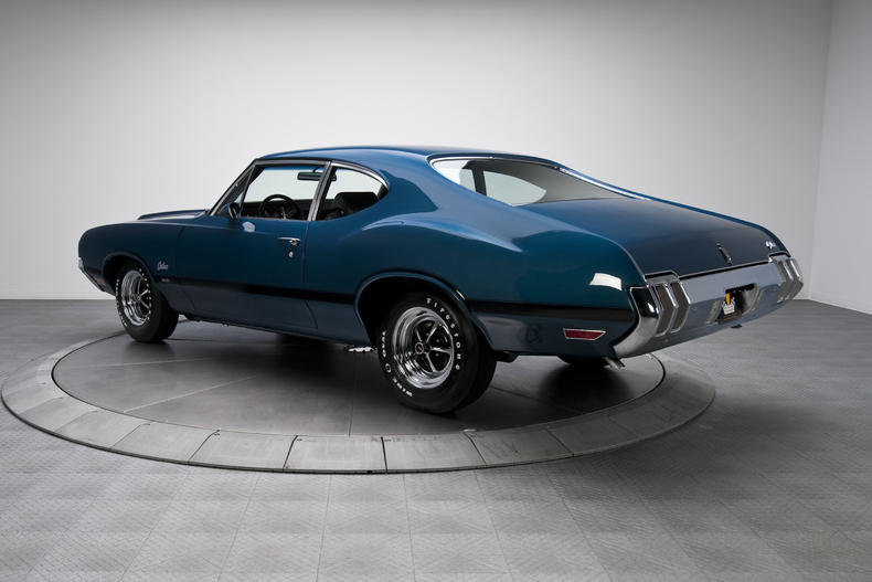 Image result for Twilight Blue 1970 Olds 442