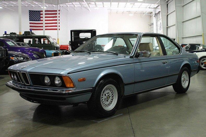 Grand Rapids Car Dealers >> Blue 1980 Bmw 635csi For Sale | MCG Marketplace