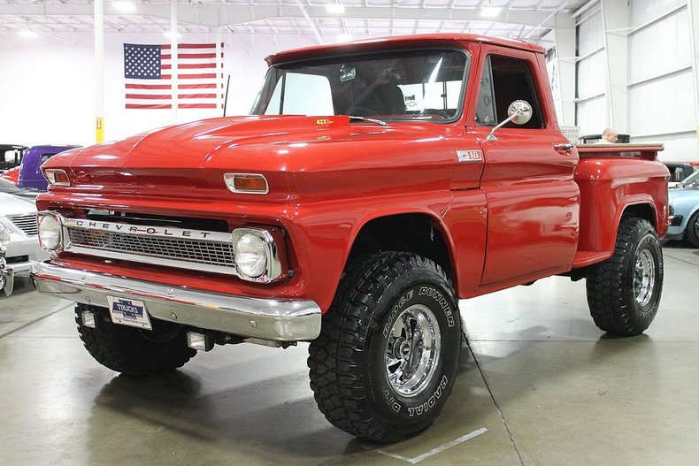 Trucks For Sale In Oklahoma >> Red 1965 Chevrolet C10 For Sale | MCG Marketplace