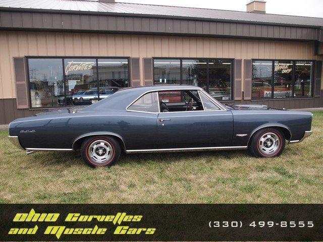 Blue Charcoal 1966 Pontiac Gto For Sale Mcg Marketplace