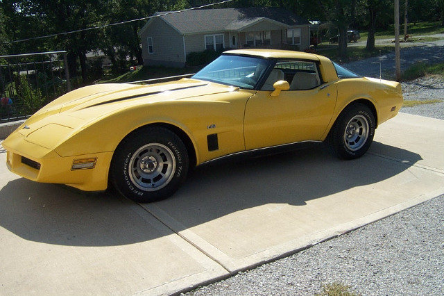 yellow 1980 chevrolet corvette for sale mcg marketplace. Cars Review. Best American Auto & Cars Review
