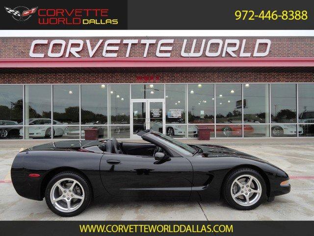 black 2001 chevrolet corvette p 51a for sale mcg marketplace. Black Bedroom Furniture Sets. Home Design Ideas