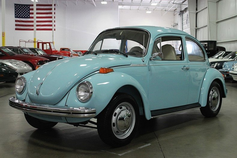 1971 Volkswagen Beetle Specs >> Marina Blue 1973 Volkswagen Beetle Super Beetle For Sale | MCG Marketplace
