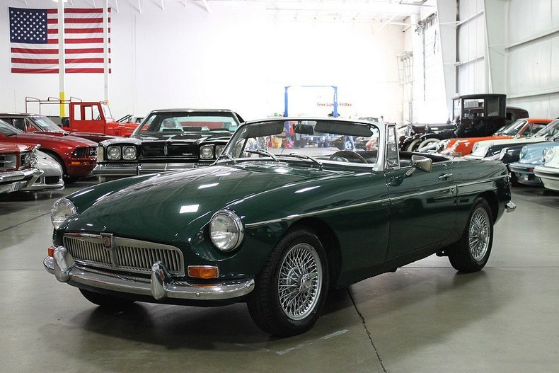 Grand Rapids Car Dealers >> British Racing Green 1969 Mg Mgb For Sale | MCG Marketplace