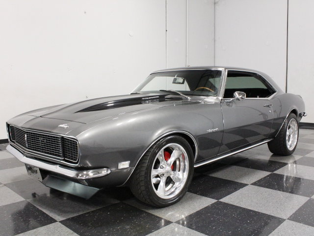 Gray 1968 Chevrolet Camaro Rs Ss For Sale Mcg Marketplace