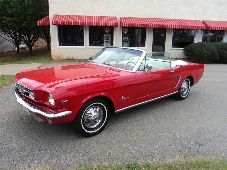 Red 1965 Ford Mustang For Sale