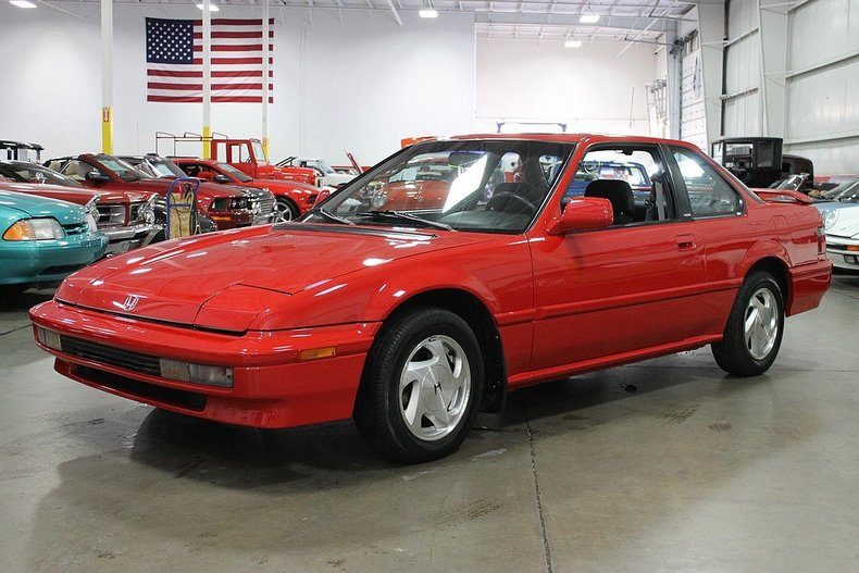 red 1991 honda prelude for sale mcg marketplace. Black Bedroom Furniture Sets. Home Design Ideas