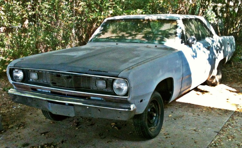 b5 blue 1972 plymouth scamp for sale mcg marketplace. Black Bedroom Furniture Sets. Home Design Ideas