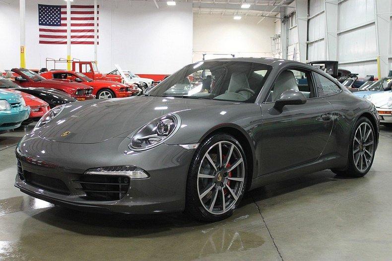 Agate Gray 2012 Porsche 911 Carrera S For Sale Mcg