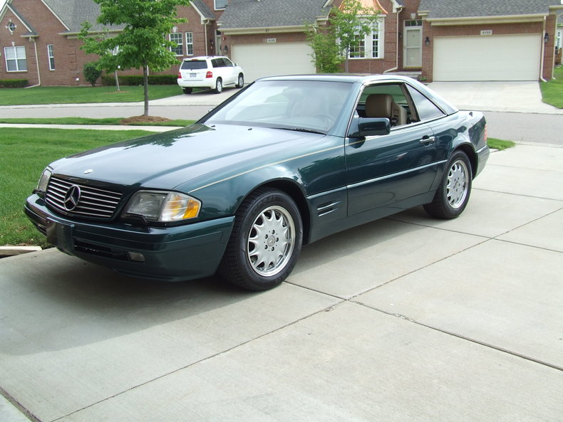 Green 1996 mercedes benz sl320 for sale mcg marketplace for Mercedes benz sl320 for sale