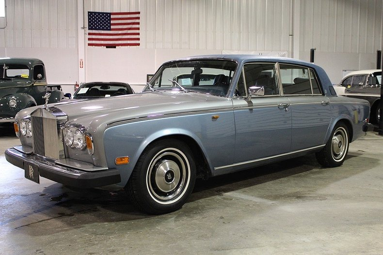 blue 1980 rolls royce silver wraith ii for sale mcg. Black Bedroom Furniture Sets. Home Design Ideas
