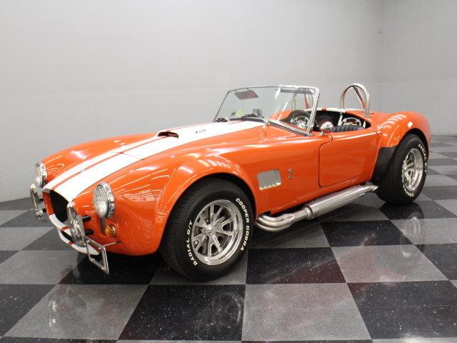 Orange 1965 shelby cobra for sale mcg marketplace for Garage ford orange