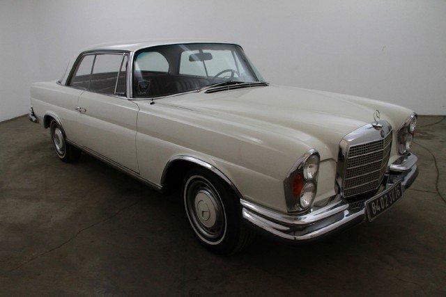 White 1970 mercedes benz 280 se for sale mcg marketplace for 1970 mercedes benz 280se