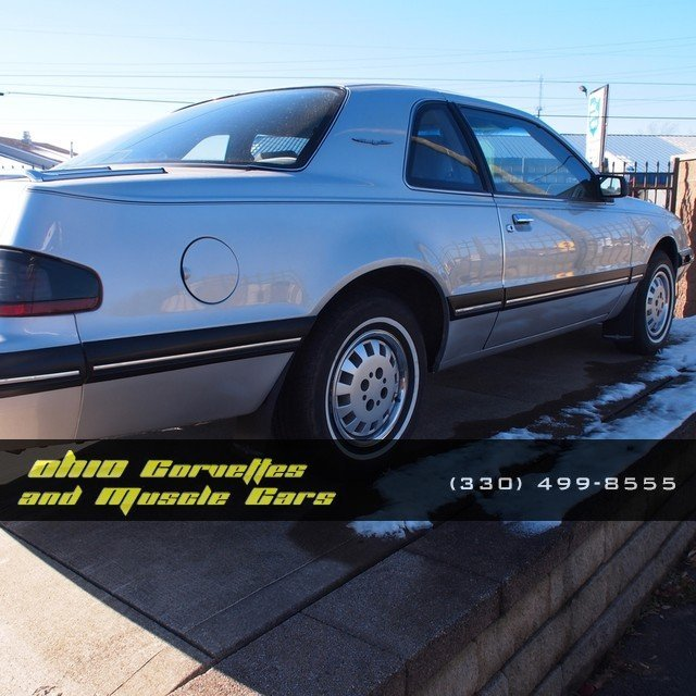 Silver 1988 Ford Thunderbird Lx For Sale  MCG Marketplace