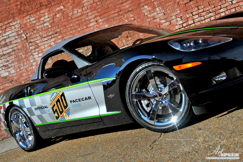black 2008 chevrolet corvette indy pace car for sale mcg marketplace. Black Bedroom Furniture Sets. Home Design Ideas