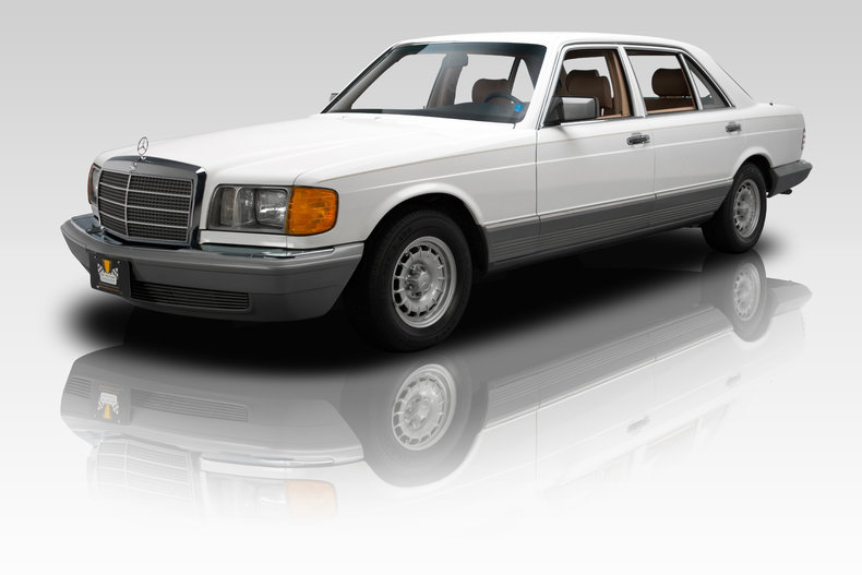 White 1985 mercedes benz 500 sel for sale mcg marketplace for 1985 mercedes benz 500sel