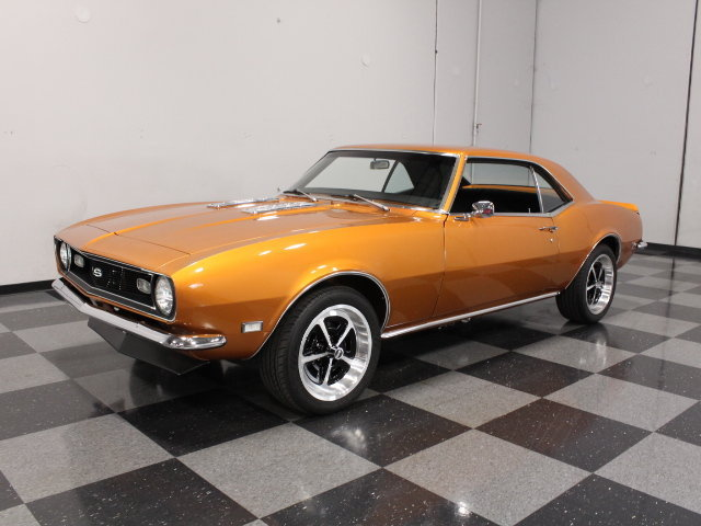 burnt orange 1968 chevrolet camaro for sale mcg marketplace. Black Bedroom Furniture Sets. Home Design Ideas