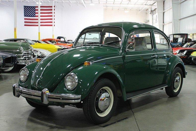 Delta Green 1968 Volkswagen Beetle For Sale Mcg Marketplace