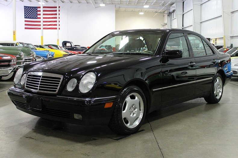 black 1999 mercedes benz e430 for sale mcg marketplace
