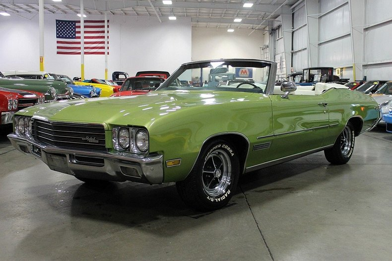 Seamist Green 1971 Buick Skylark For Sale Mcg Marketplace