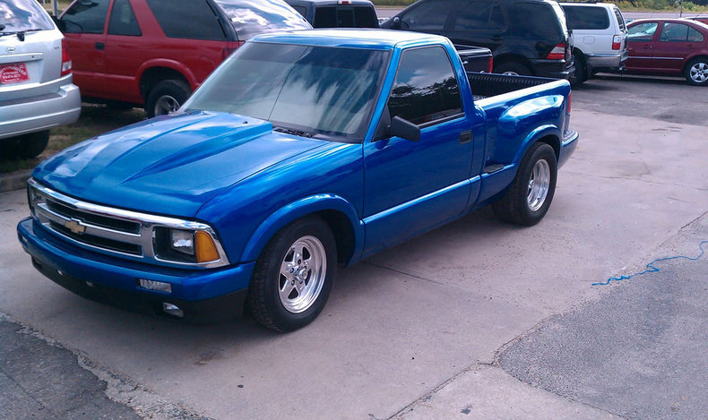 blue metallic 1996 chevrolet s10 for sale mcg marketplace. Cars Review. Best American Auto & Cars Review