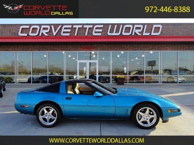 1992 chevrolet corvette p 51a for sale mcg marketplace. Black Bedroom Furniture Sets. Home Design Ideas