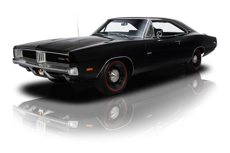 black 1969 dodge charger r t for sale mcg marketplace. Black Bedroom Furniture Sets. Home Design Ideas