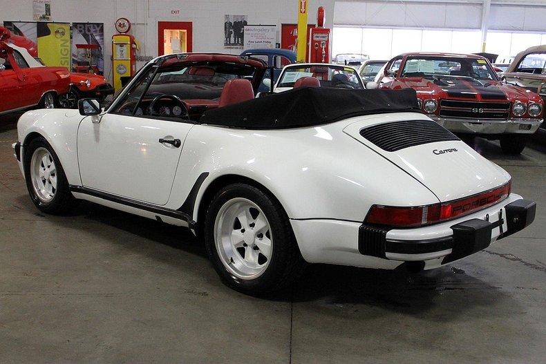 1986 Porsche 911 Carrera Cabriolet Post Mcg Social