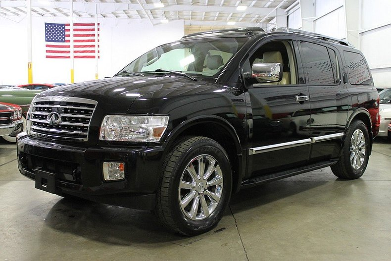 liquid onyx 2008 infiniti qx56 for sale mcg marketplace. Black Bedroom Furniture Sets. Home Design Ideas