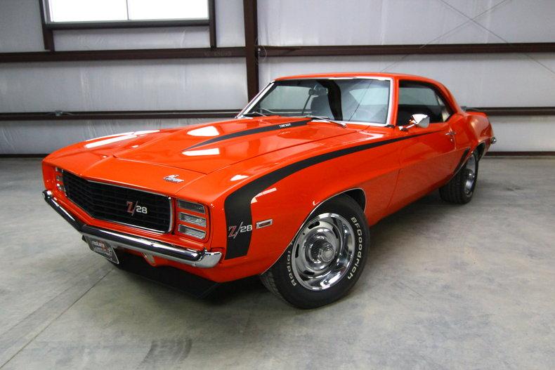 Cars For Sale Lincoln Ne >> Hugger Orange 1969 Chevrolet Camaro Z/28 Rs For Sale | MCG Marketplace