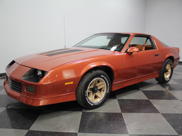 copper 1985 chevrolet camaro z28 for sale mcg marketplace. Black Bedroom Furniture Sets. Home Design Ideas