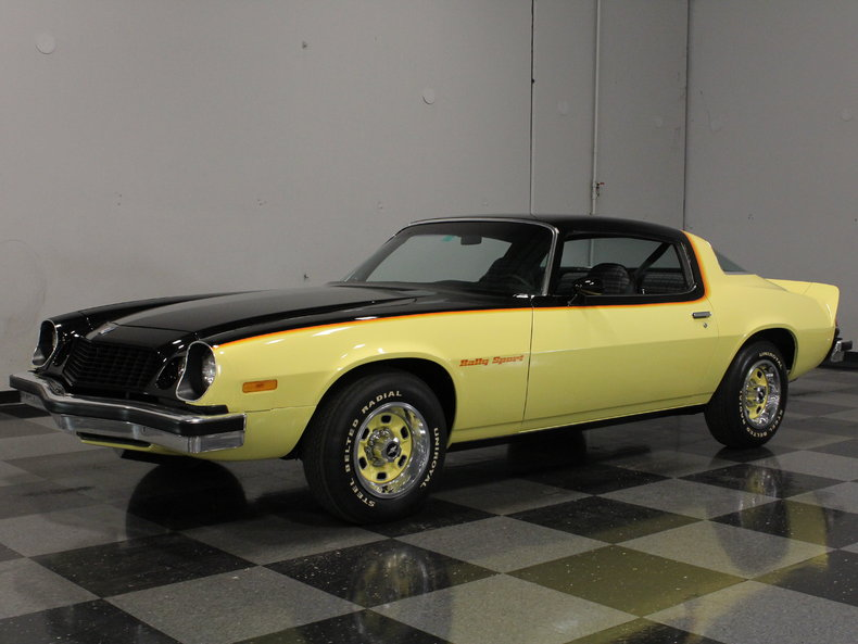 Yellow 1975 Chevrolet Camaro Rs For Sale Mcg Marketplace