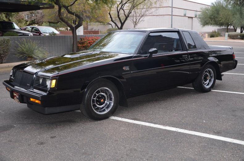 black 1987 buick grand national for sale mcg marketplace. Black Bedroom Furniture Sets. Home Design Ideas