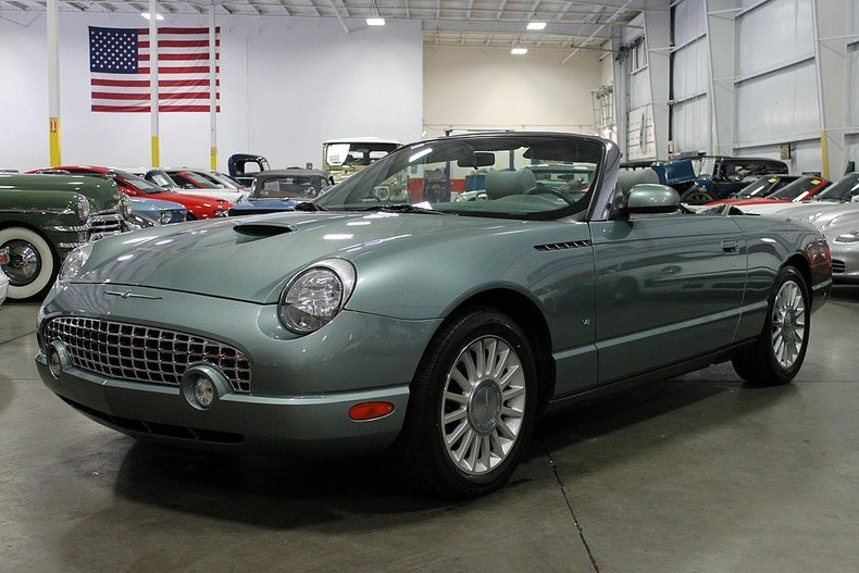 monterey mist 2004 ford thunderbird for sale mcg marketplace. Black Bedroom Furniture Sets. Home Design Ideas