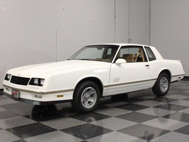 White 1988 Chevrolet Monte Carlo Ss For Sale Mcg Marketplace