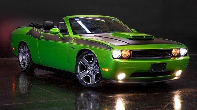 green with envy 2011 dodge challenger r t for sale mcg marketplace. Black Bedroom Furniture Sets. Home Design Ideas