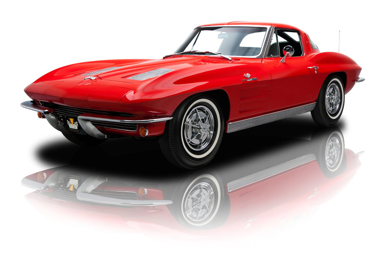 riverside red 1963 chevrolet corvette z06 for sale mcg. Black Bedroom Furniture Sets. Home Design Ideas