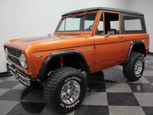 Burnt orange 1967 ford bronco for sale mcg marketplace for Garage ford orange
