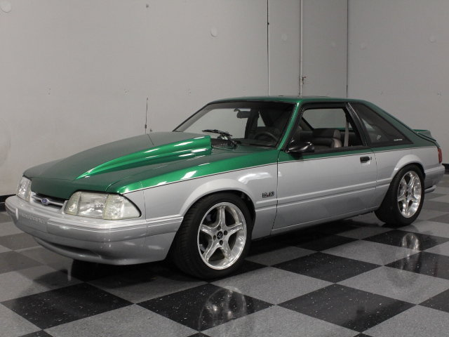 green 1992 ford mustang gt for sale mcg marketplace. Black Bedroom Furniture Sets. Home Design Ideas