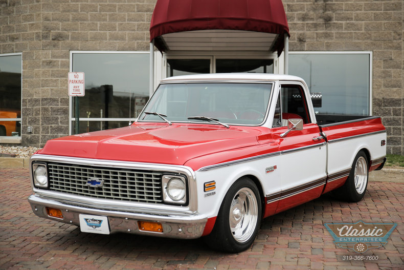 Viper Red 1972 Chevrolet C10 For Sale Mcg Marketplace