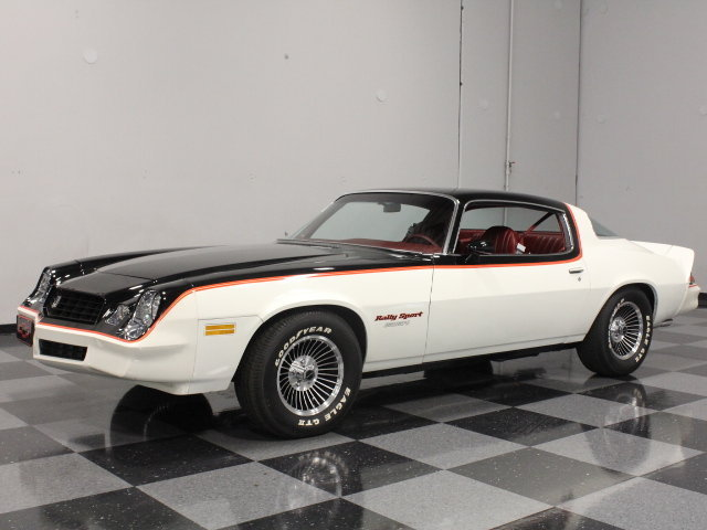 White 1979 Chevrolet Camaro Rs For Sale Mcg Marketplace